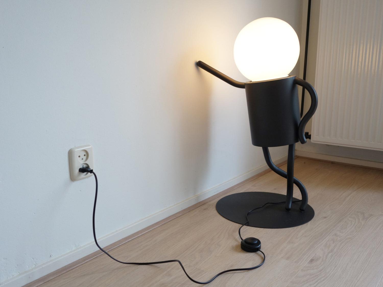 Little Man Funny Floor Lamp Shopblast Best Products